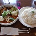 Photos: 南家本店 豆腐とひき肉+特盛りライス