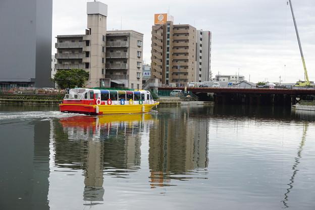 写真: 20171007中川運河(1)