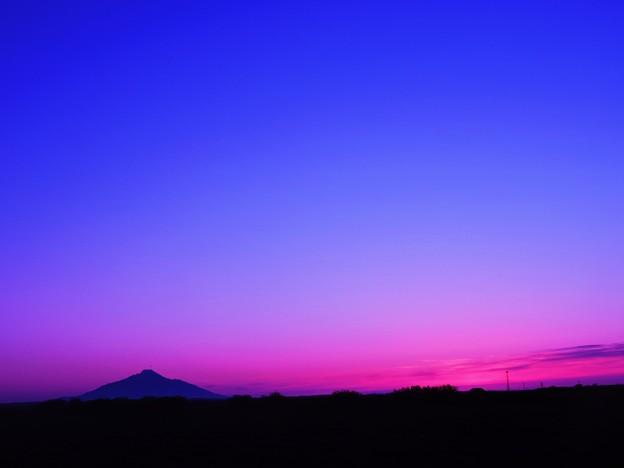 サロベツの夕景