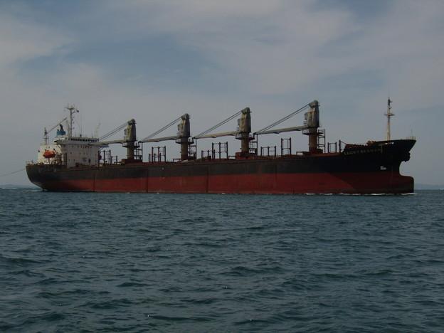 東播磨港に到着した Bulk carrier - LUCKY SEAMAN