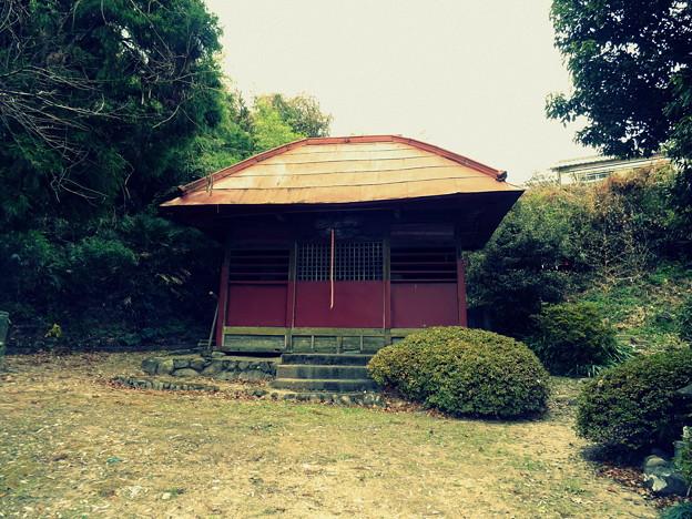 根小屋18 白山神社社殿