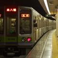 都営新宿線新宿三丁目駅2番線 都営10-280F各停本八幡行き前方確認