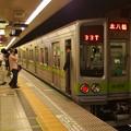 都営新宿線馬喰横山駅2番線 都営10-270F各停本八幡行き停止位置よし
