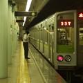 Photos: 都営新宿線市ヶ谷駅2番線 都営10-240F各停本八幡行き挨拶