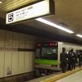 都営新宿線新宿駅5番線 都営10-400F急行大島行き乗務員交代