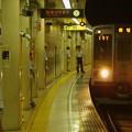 Photos: 都営新宿線篠崎駅1番線 都営10-250F急行笹塚行き通過