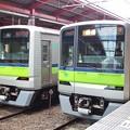 都営新宿線船堀駅1番線 都営10-380F急行笹塚行き並び