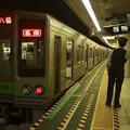 都営新宿線篠崎駅2番線 都営10-270F各停本八幡行きベル扱い