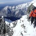 写真: 復路7峰トラバース