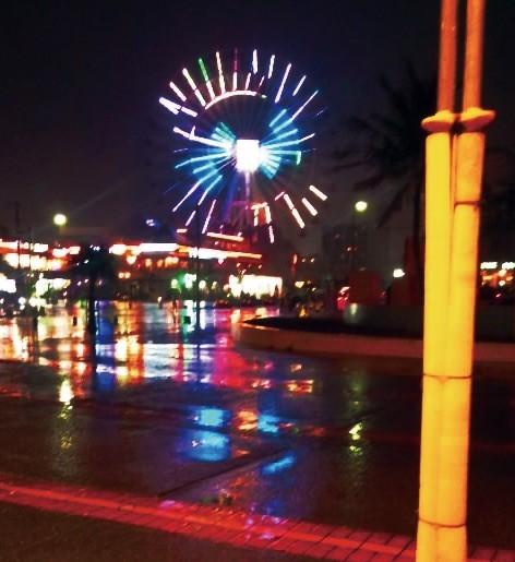 Photos: 観終わったら外がブレランしく雨だった(予報通り)
