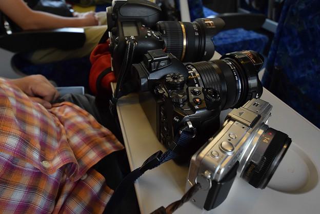 知人のカメラ