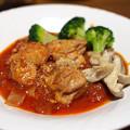 Photos: 鶏肉のトマト煮