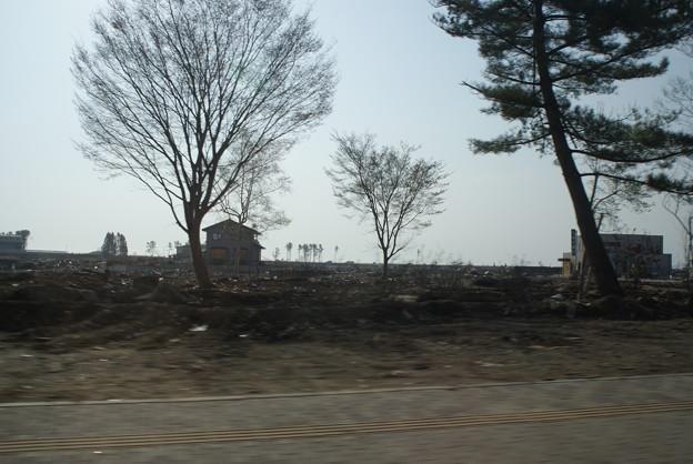 岩手県野田村の津波被災現場1