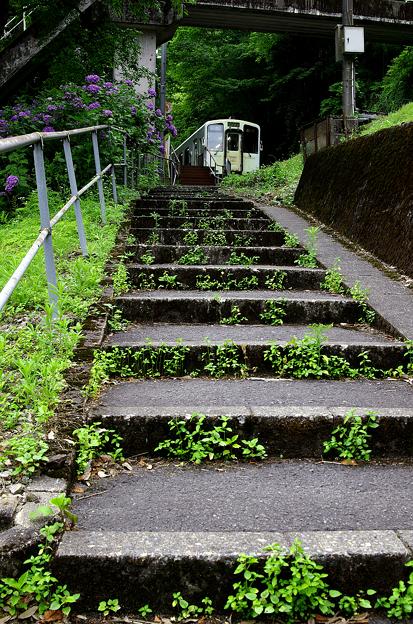 樽見鉄道・高尾駅(9)