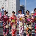 写真: 一宮七夕祭り2017・打ち水大作戦(4)