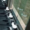 写真: 美術館のカフェ