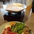 写真: 茶美豚の吟醸粕汁鍋