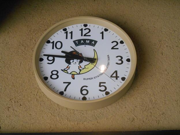 たま駅長時計