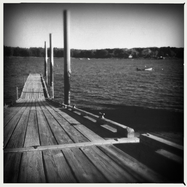 Photos: Boat Ramp in B&W 10-18-17