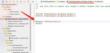 王森博客,Swift使用OC框架