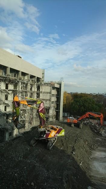 病院の解体工事01