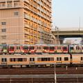 名古屋臨海高速鉄道(あおなみ線)1000形 レゴランドラッピング