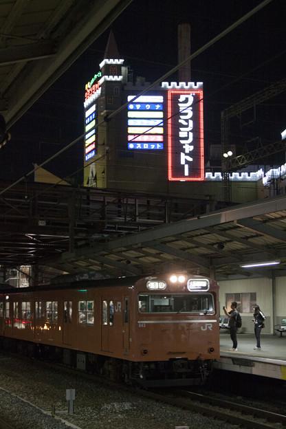 103系LA04編成(京橋グランシャトー)