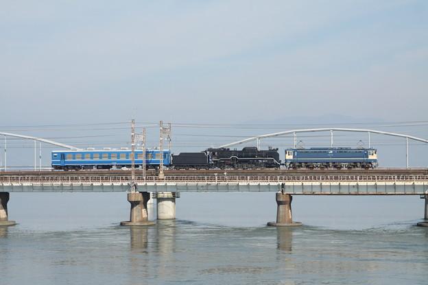 D51-200北陸線試運転(送り込み)