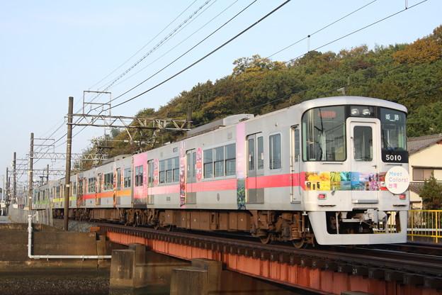 山陽電鉄 5000系(台湾ラッピング)