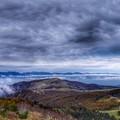 写真: 北アルプスの山並み
