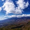 飯盛山からみた八ヶ岳