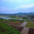 写真: 越後川口SA上り線の景色