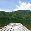 初夏の木崎湖