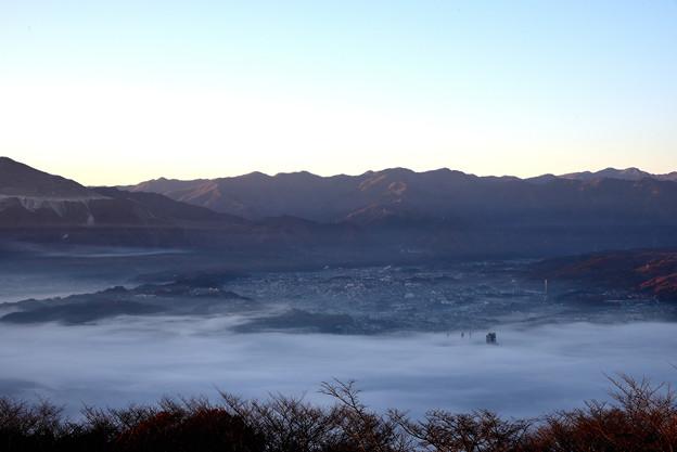 美の山公園からの雲海