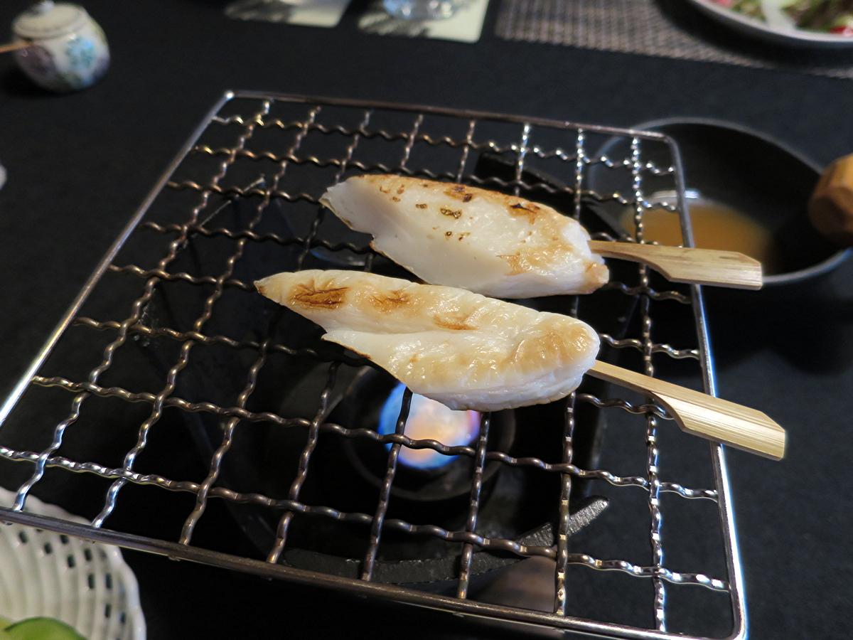 笹カマ焼き