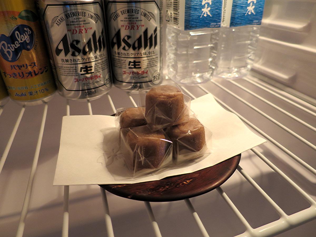 冷蔵庫お菓子