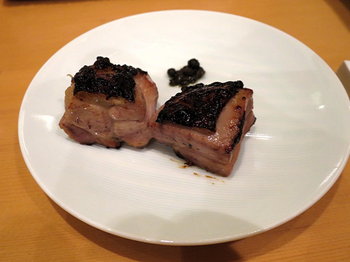 モモ肉西京焼き
