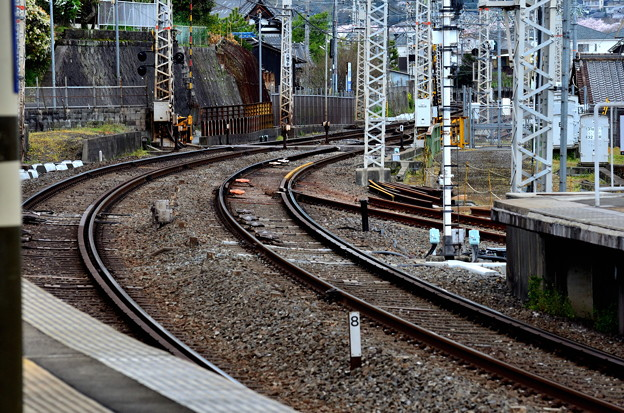 Photos: 2017_0409_162231 大阪側のポイントも・・・