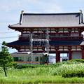 Photos: 2017_0903_135154_01 朱雀門X阪神電車