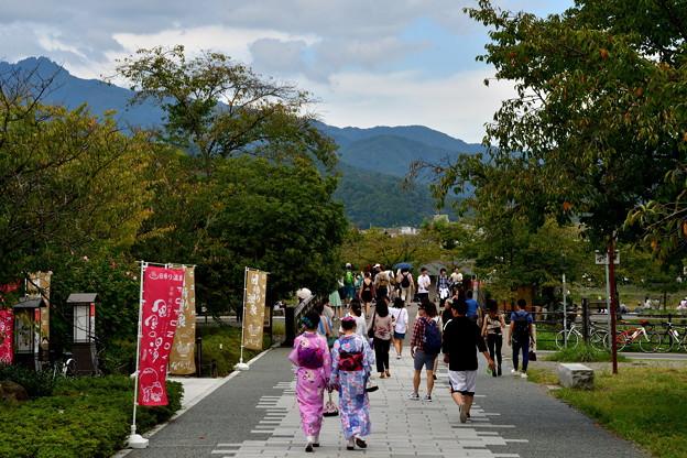 2017_0924_121723 嵐山公園に向かう