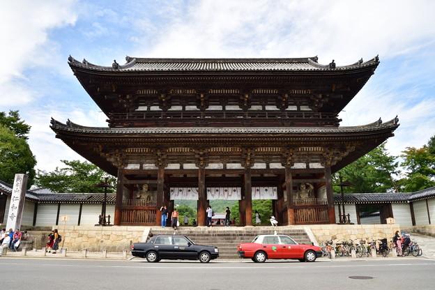 2017_0924_142903 世界遺産 仁和寺 仁王門