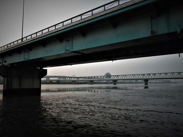 写真: 引き潮