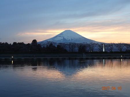 春はまだ?平成29年の御殿場・東山湖