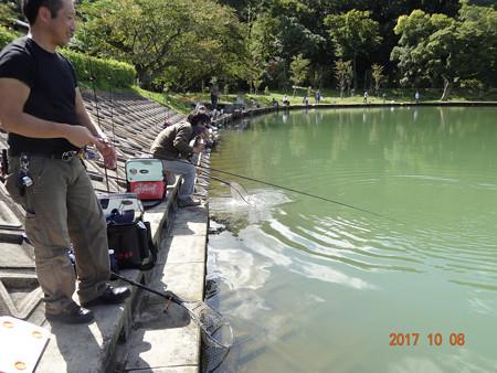 2017年 オープン間もない東山湖へ