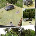 Photos: 廃車ジオラマ