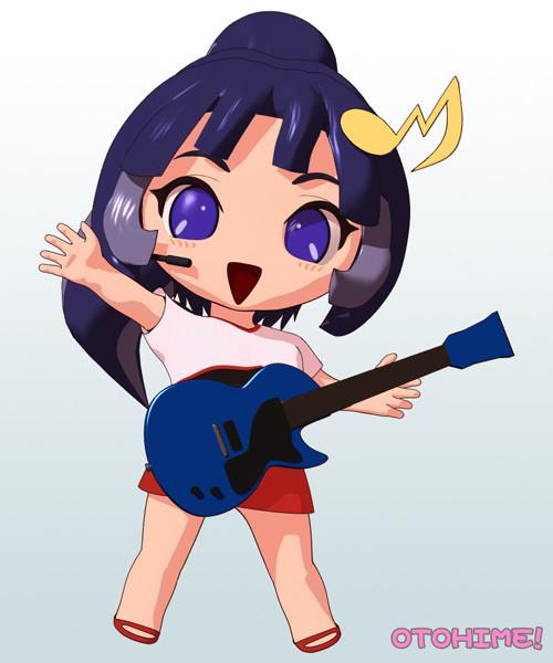 ユミ・できかけギター
