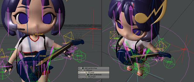 ギターを首からぶら下げてネックを左手に追従させる方法