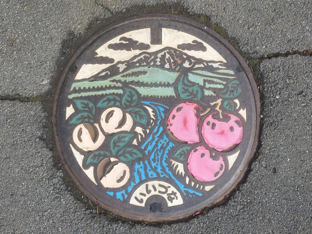 マンホール 長野県飯綱町 カラー