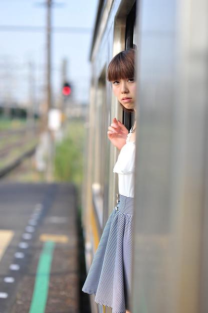 写真: 終着駅