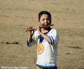 写真: モンゴルの少年